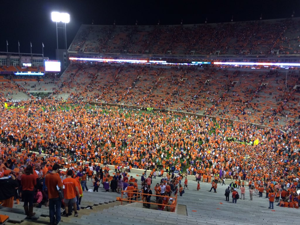 They will be partying in #Clemson tonight. https://t.co/Xj5HTWMi69