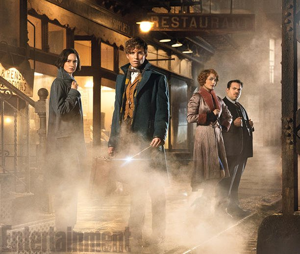 Your exclusive first look inside J.K. Rowling's whole Newt world of FantasticBeasts: