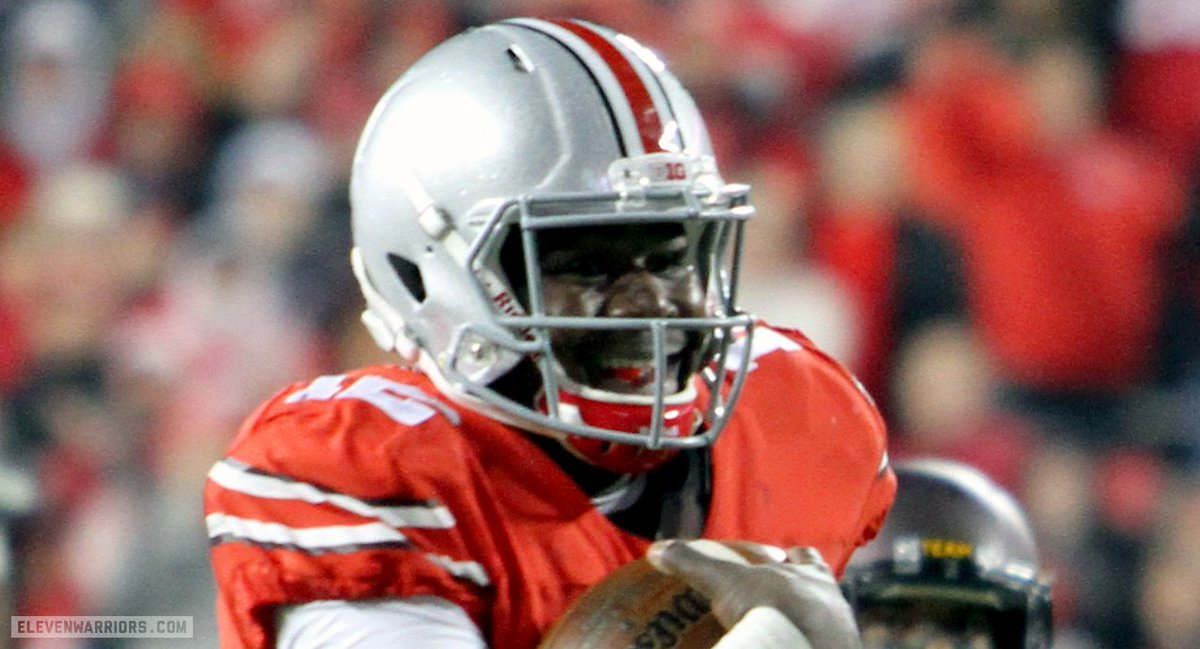 Cardale Jones (@CJ12_) was visibly smiling during his game-clinching touchdown run. https://t.co/ydvzPknsGp