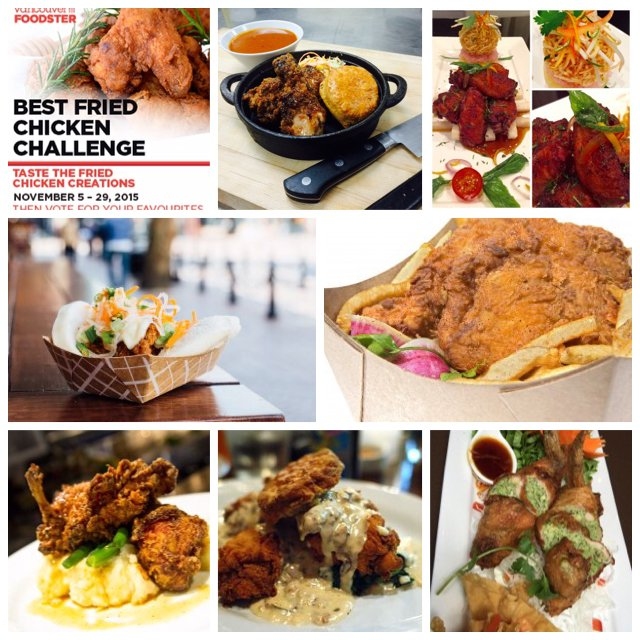 Try these 7 Fried Chicken Creations now thru November 29   https://t.co/DDu6KAwWPP  #FriedChickenChallengeYVR https://t.co/6BZoNrfJKi