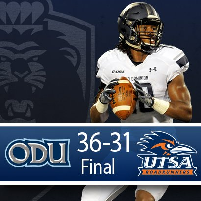 #ODUFB WINS https://t.co/OA5eTSXrbK