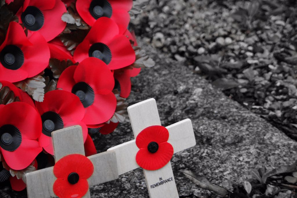 We will remember them...  #RemembranceSunday #Remembrance https://t.co/qjoE6Q9OVN