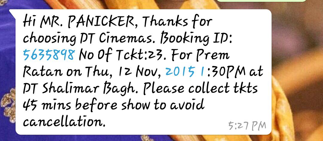 23 TICKETS FOR @PRDP. Will post the pic of the tickets once i collect! @rajshri @foxstarhindi #4DaysToMagnumOpusPRDP https://t.co/fsGZ2etgj1