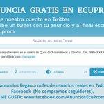 Vende más!!! Anuncia Gratis por internet en #Ecuador https://t.co/bsV3SndrOz #Quito #Guayaquil #Ibarra #Ambato