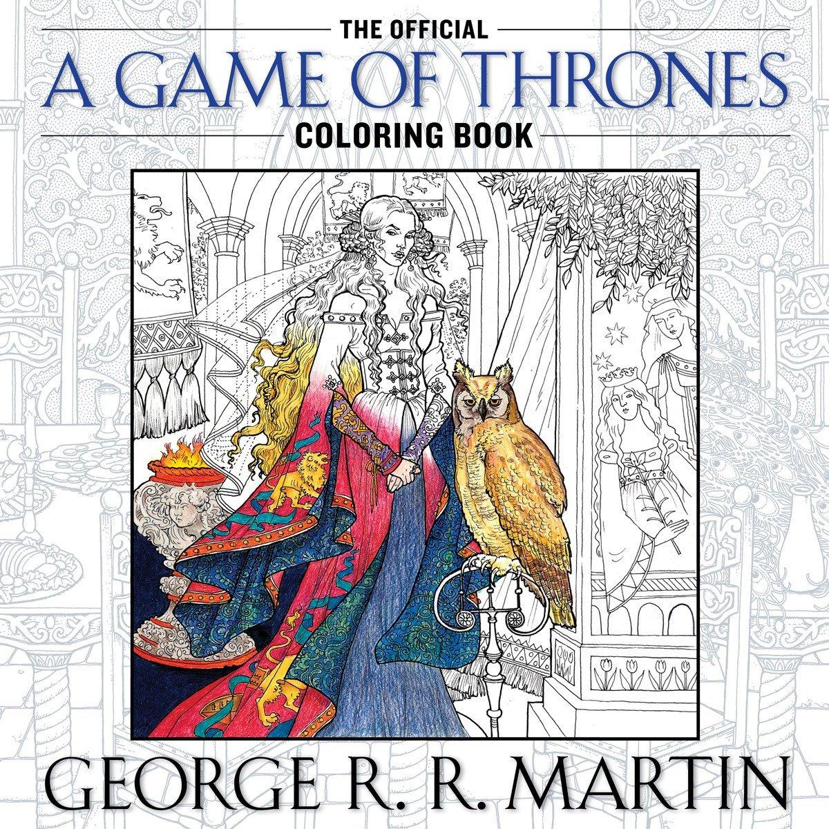 Иллюстрации изпоступившей впродажу официальной раскраски, посвященной «Игре престолов» #КПзалипает https://t.co/xcoHUeBYFq