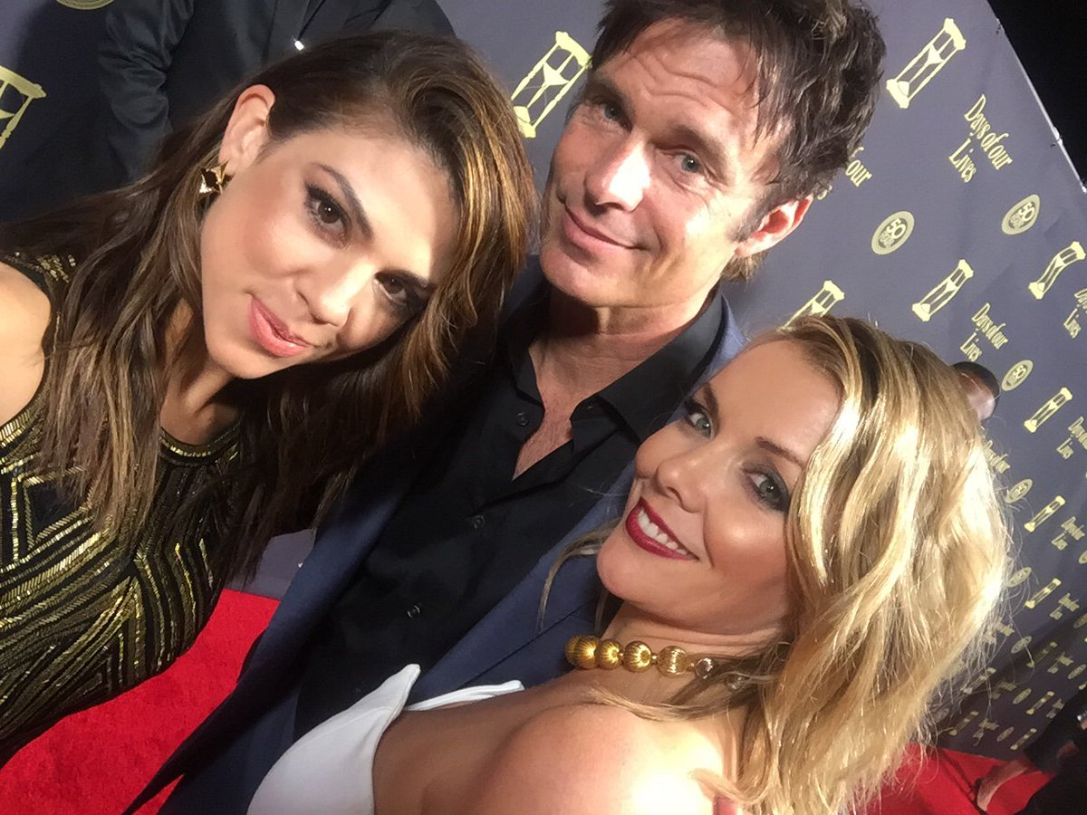 What a hoot!  #DAYS50th party was amazing last night.   I've got a headache to prove it https://t.co/mlGegeeAdF