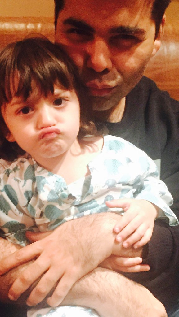 Before the #DILWALE mania begins! Here is the latest pouting DILWALA!!! #AbramKhan @iamsrk https://t.co/DWr9gavMjj