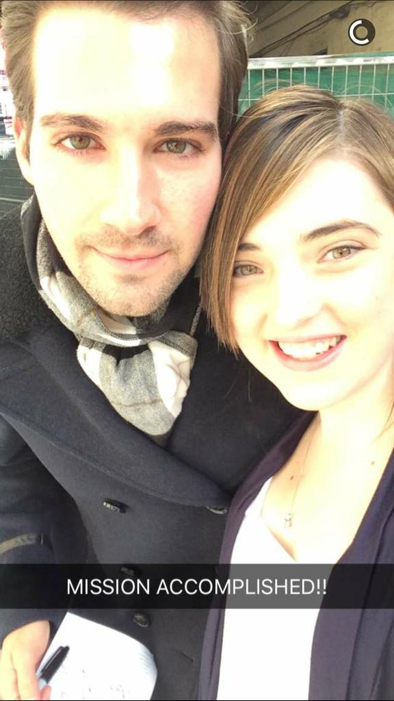 EMILY MET JAMES OMG I MISS HIM!!!! @Emily_J_3 @jamesmaslow https://t.co/AuDrofOaU5