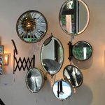 Blackman Cruz in Liz Angeles is full of wonderful antiques and vintage objects like these mirrors https://t.co/GbtwpHxgVV