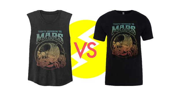 RT @MARSStore: THIS IS WAR! 1 Design. 2 Shirts. Only ONE will make it to production. Which will YOU choose? https://t.co/fr9EFr1vQd https:/…