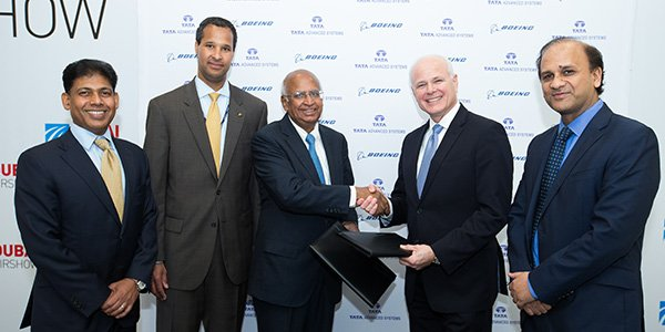 Tata Advanced Systems and @Boeing announce aerospace joint venture in India https://t.co/q4iKycjrau https://t.co/2NVyZ15QdR