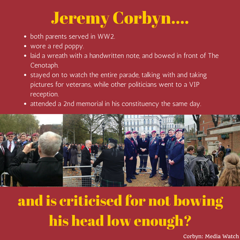 The truth about Jeremy Corbyn and #ArmisticeDay https://t.co/CFEzMnB8e2