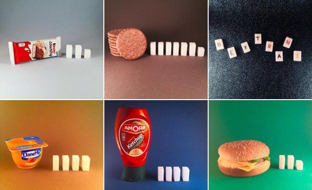 Ce compte Instagram illustre la quantité de sucre présente dans nos aliments https://t.co/zYNUQSeC4D #DealerdeSucre https://t.co/AqXiGKmA1C
