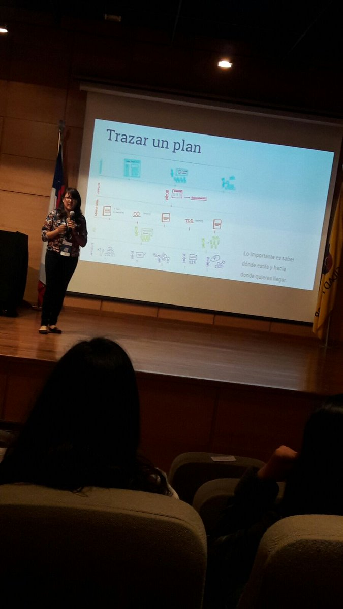 "Carla Suarez, do Equador, palestrou sobre ""Como desenvolver desenvolvedorAs"" :) #Latinity2015 https://t.co/d8pFqXforO"