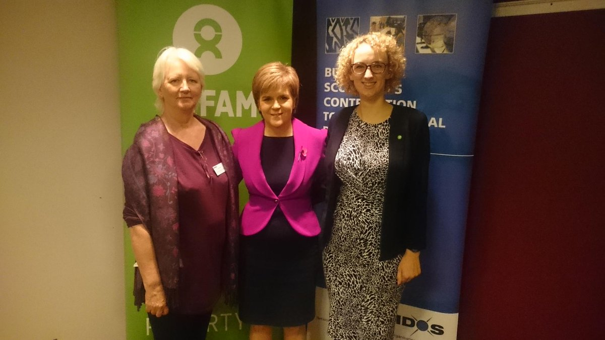 Huge thanks to FM @NicolaSturgeon for her keynote speech @NIDOSNetwork #scotlandvinequality event https://t.co/KHbsX7Y5kv