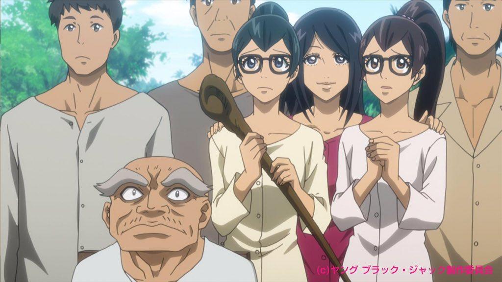 アニメ6話目「ベトナムにて③」に登場した可愛い双子の眼鏡っ娘についてお問い合わせがありましたのでご紹介。手塚治虫先生が1