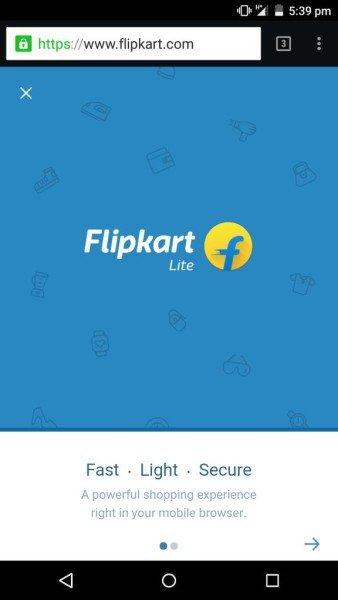 Sanity Returns? Flipkart Backtracks on App only Strategy; Brings Back the Mobile Website https://t.co/GRimeDfHNU https://t.co/eTPyqu8QHY