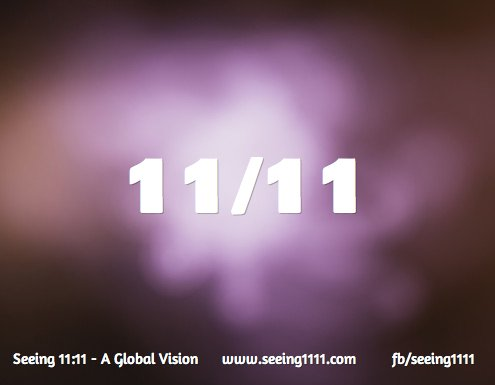 Counting down to 11/11 ... join the Wave at 11:11 wherever You are <3 https://t.co/NKuPziIAAg