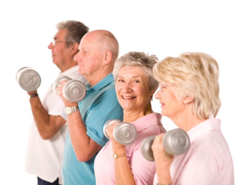 Benefits exercise for older adults