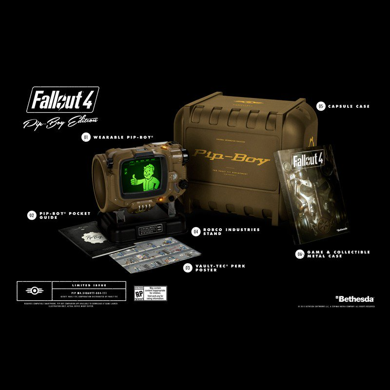 Power armor? Check. Plasma rifle? Check. Rad-Away? Check. Giveaway?  RT & Follow to win a Fallout 4 Pip-Boy Edition! https://t.co/HU96OcfOwh