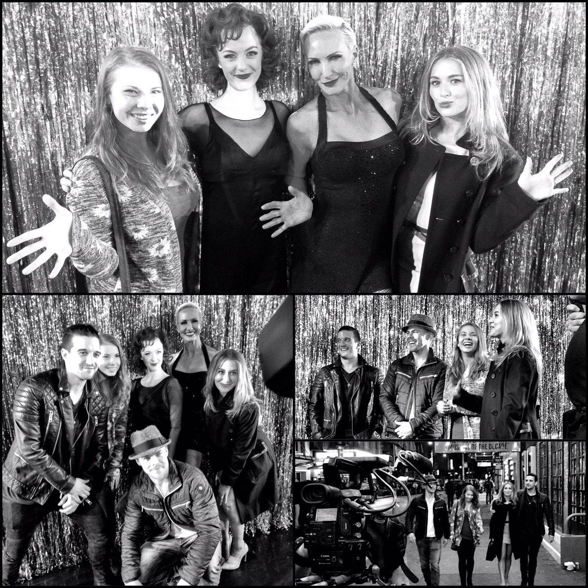 .@BindiIrwin, @derekhough, @AlexaVega, @MarkBallas meet our stars for inspiration for tonight's @DancingABC! #DWTS https://t.co/1xegpqPRnn