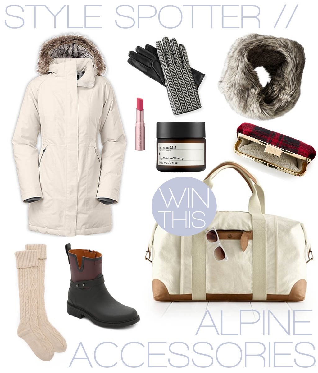 NEW! our alpine weekend essentials + the chance to win a @markandgraham weekender! https://t.co/nx4li9yghR #giveaway https://t.co/o1Le16pS5S