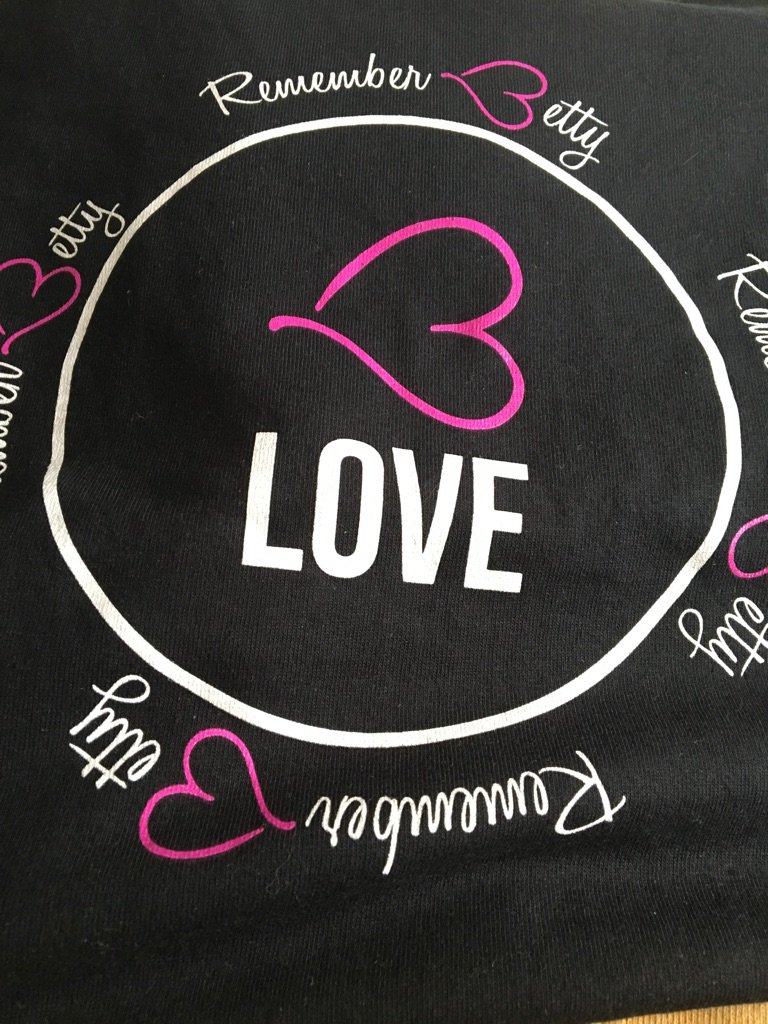 @RememberBetty got my B love tee today can't wait to put it on. Thanks @dannywood for doing things like this. Love u https://t.co/UYGFlV5P8S