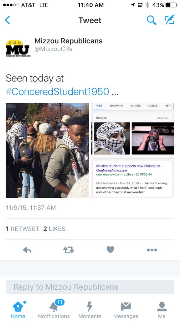 what in the world, @MizzouCRs? #ConcernedStudent1950 #mizzou https://t.co/SWbQHpOe4R