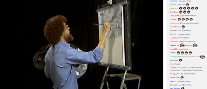 Bob Ross will now be a weekly show on Twitch: https://t.co/z9M4Z4nuZl https://t.co/a2gvUSvjDr