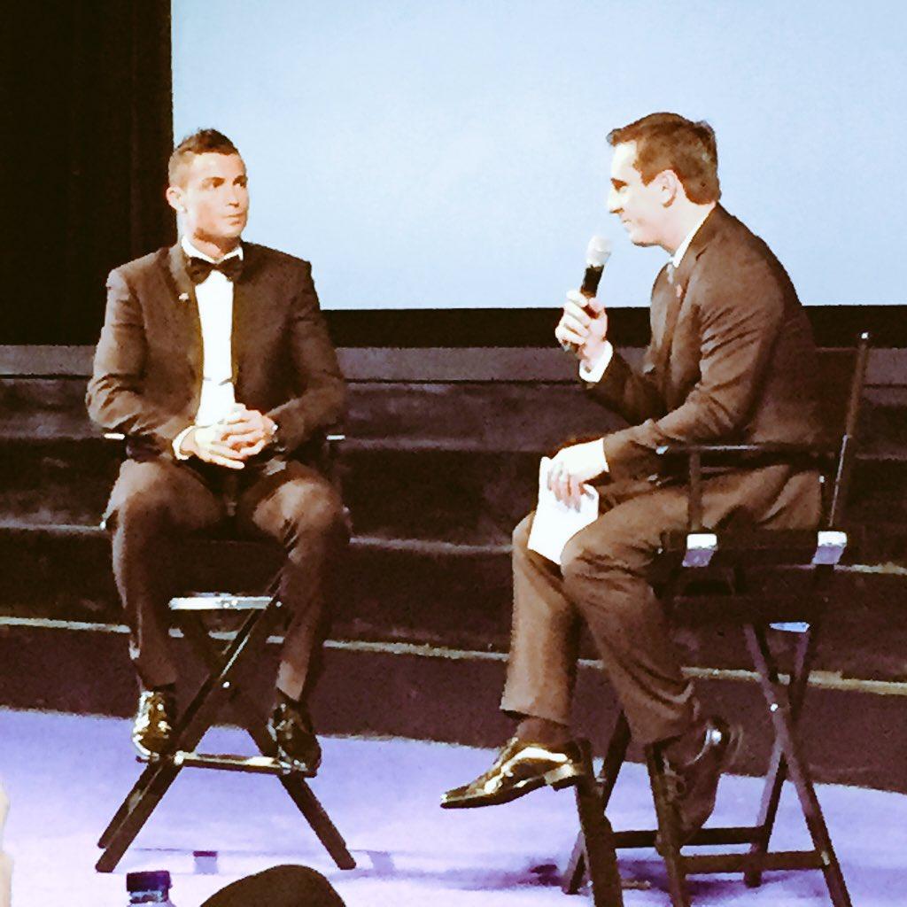 Great job @G2Nev and @Cristiano ... @RonaldoFilm #RonaldoFilm https://t.co/91hGFDvtPU
