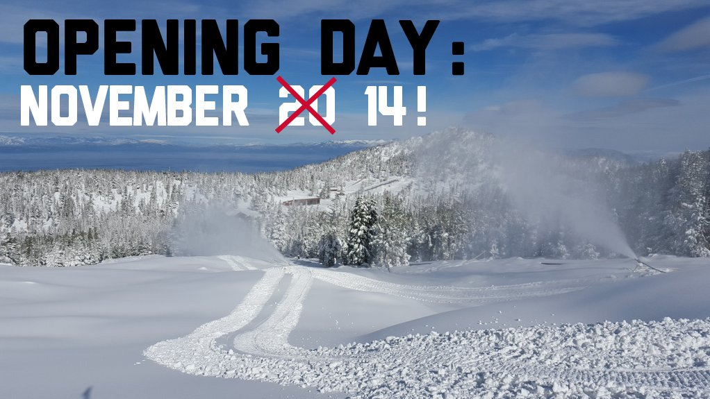 WOOHOO!! We're opening early - Saturday, Nov. 14! https://t.co/mWE9qBDzLX