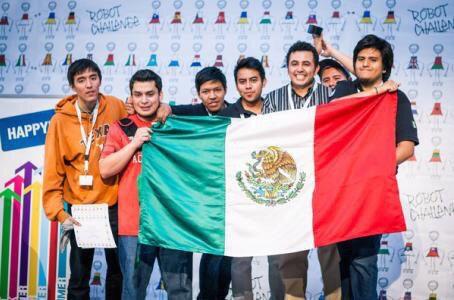 Felicidades a los estudiantes mexicanos que triunfaron en el concurso internacional de robótica, Robochallenge 2015 https://t.co/BosHIJlyVi