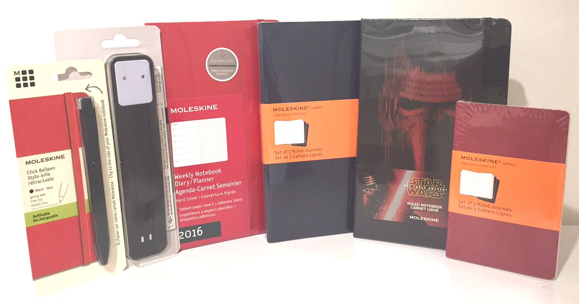 To win 1 @Moleskine prize pack, RT this post before 10PM EST tonight. #IndigoGiveaway #IndigoBooks 2/3 https://t.co/DqTjD1kpSs