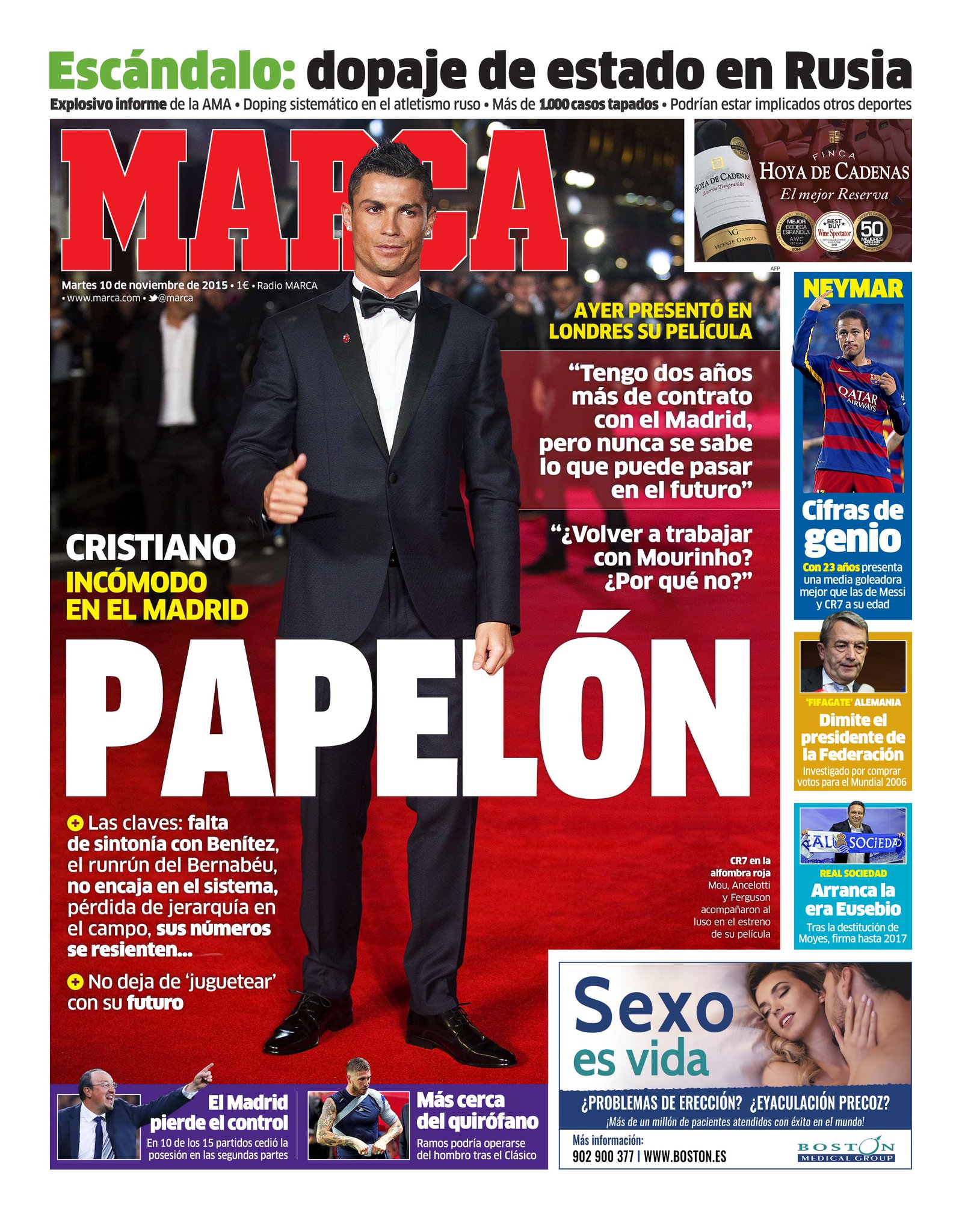 #LaPortada 'Papelón' https://t.co/oJH1VYrA7y