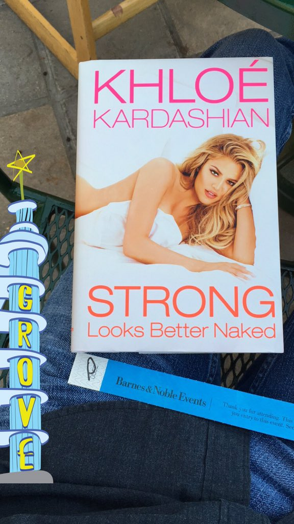 RT @DylanLane101: @khloekardashian Can't wait to see you tonight! ☺️???? #StrongLooksBetterNaked https://t.co/XMle3zuWzf