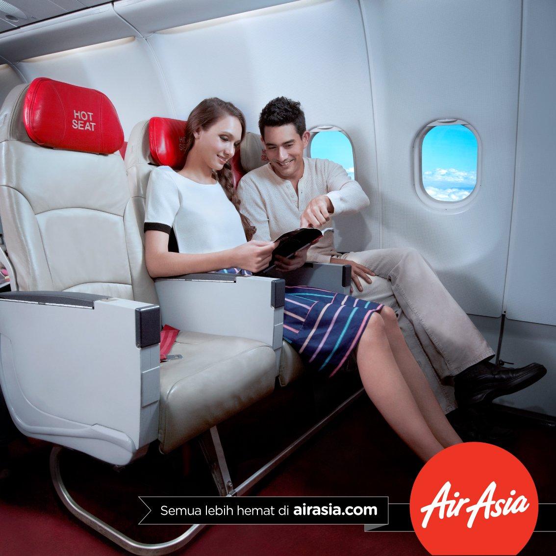 Terbang Bareng, duduk brg? Bisa bgt! Pilih kursi favorit kamu sekarang!