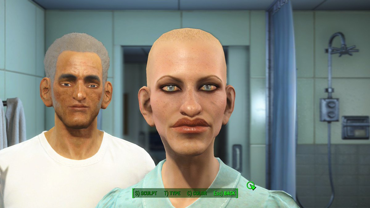 You see what happens when you give me a character creator?!?! #fallout4 https://t.co/W5VmRlJaUr
