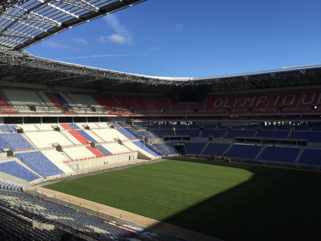 Le nouveau Grand Stade @OL vu de l'intérieur
