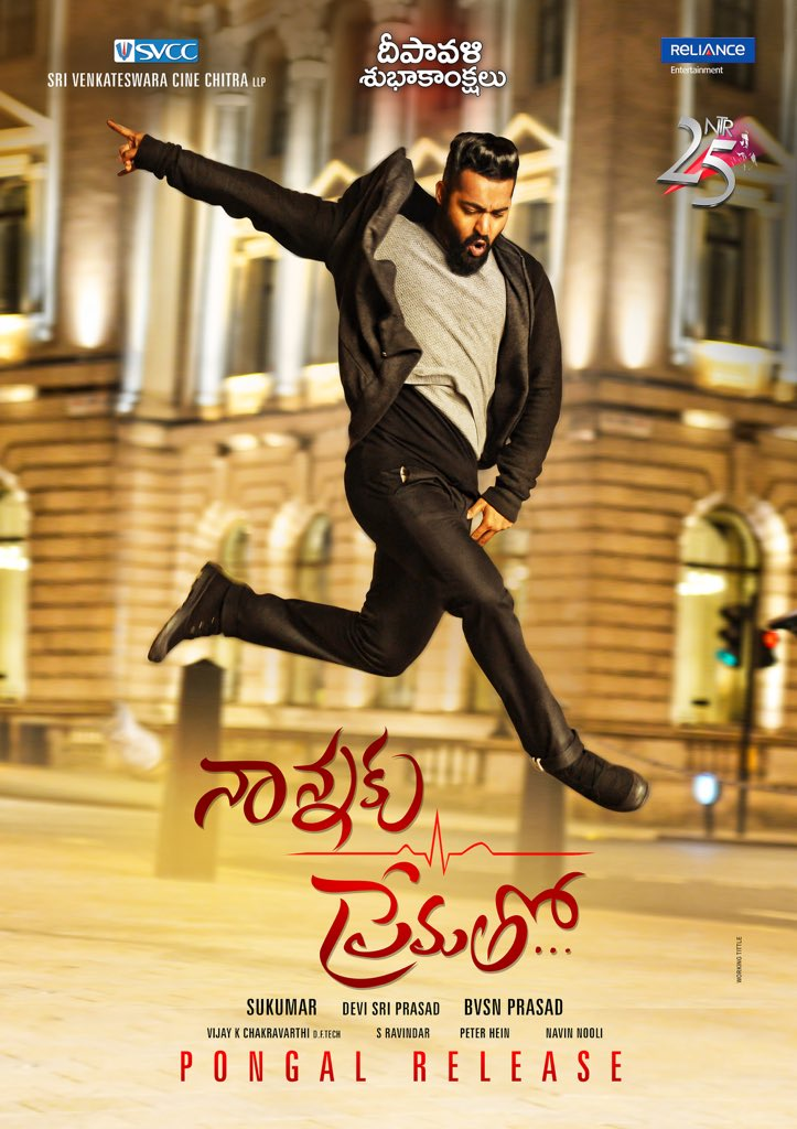 Wishing everyone a HAPPY and a safe DIWALI #NannakuPrematho https://t.co/ZbVbQeYGpm