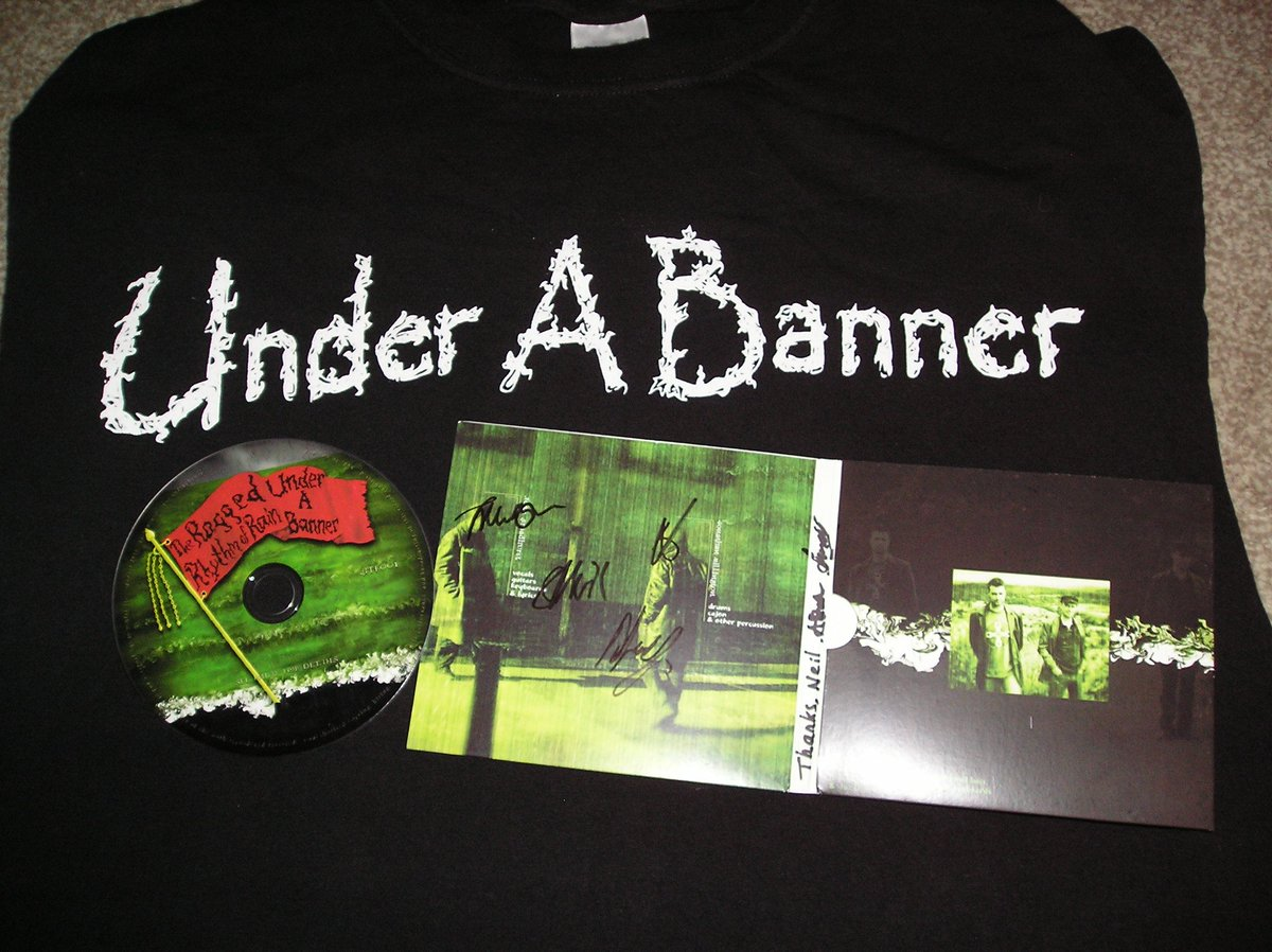 Top band @underabanner from Wolverhampton donated a song for our Charity CD and have played a gig for us too #UAB https://t.co/YgPKT2Jez0