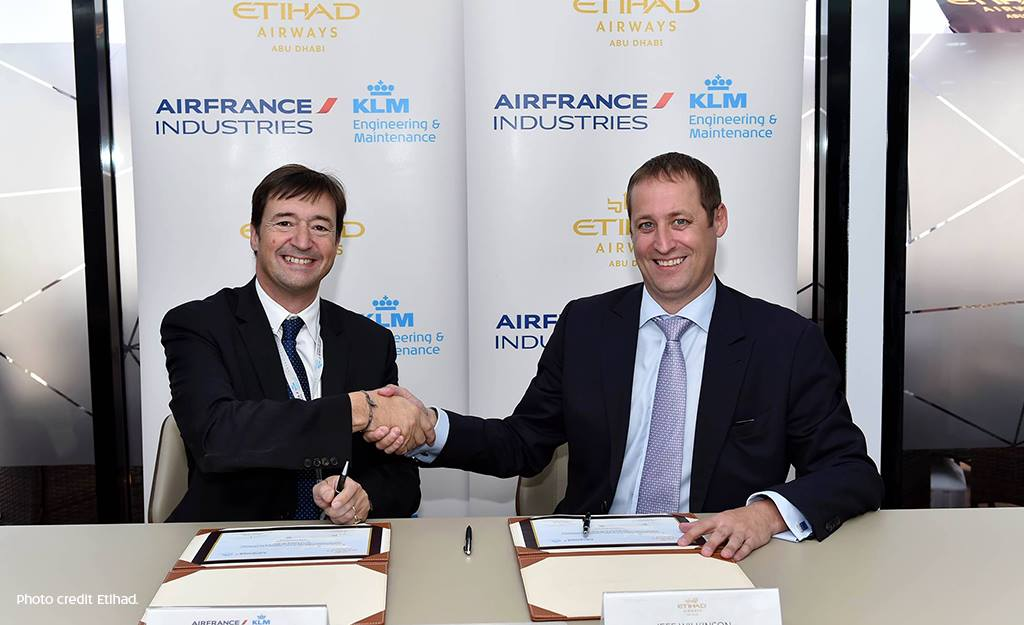 Air France-KLM signs maintenance agreement with Etihad Airways. Read the full media release