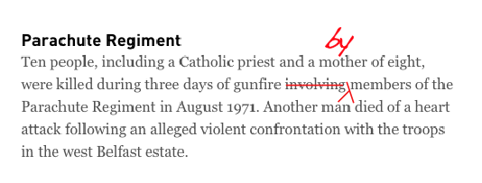 Hey @IrishTimes – I've just fixed your report on the Ballymurphy debate. It's okay, you don't need to thank me https://t.co/6AxtM52PvV
