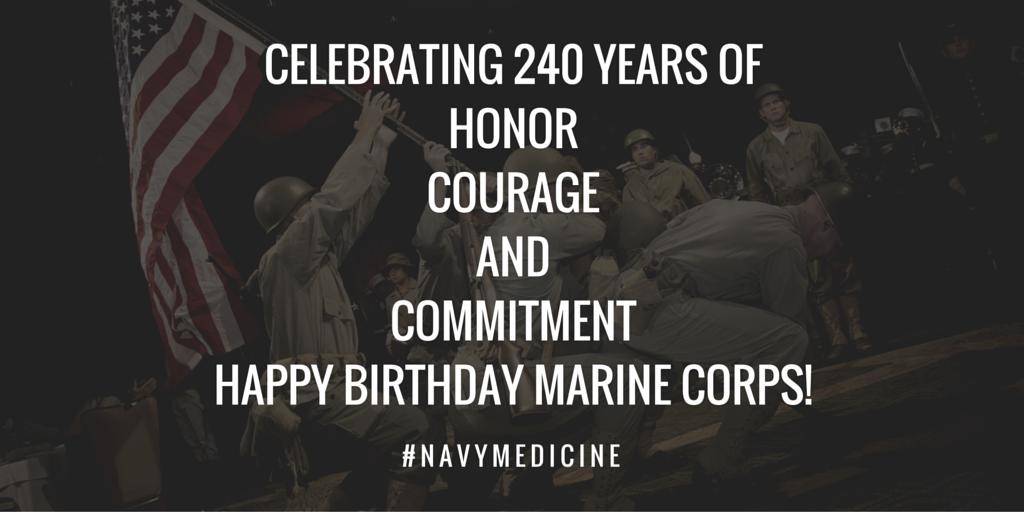 Happy 240th birthday @USMC! #USMCBirthday https://t.co/PPj1f2A2fu