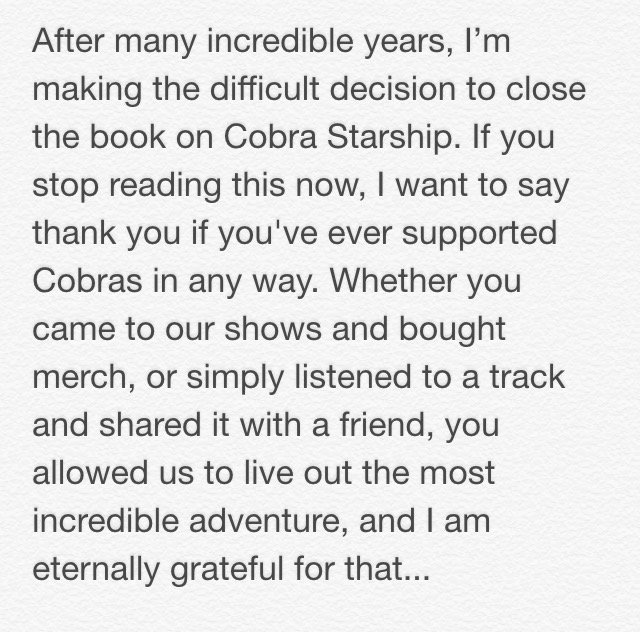 I want to say thank you if you've ever supported Cobras in any way… full post: https://t.co/zfpHrthTN6 https://t.co/tTUILyYiQJ