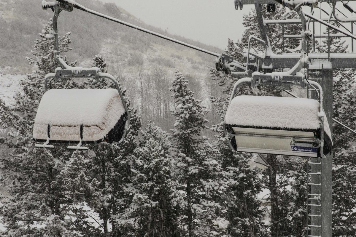 Current Park City Weather:  Snow. #oneparkcity https://t.co/tRKwvCr65Y