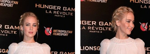 Jennifer Lawrence looks like a Disney princess at Hunger Games photocall in Paris - pics: