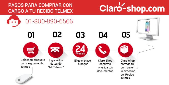 #YoSoyClaroshop porque me se los pasos para comprar con cargo a mi Recibo Telmex