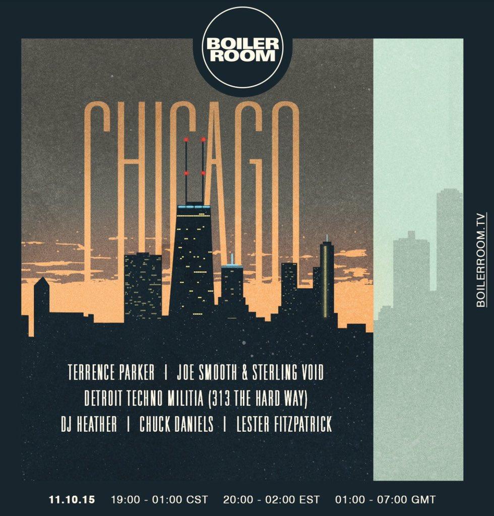 #Tonight @boilerroomtv #Chicago https://t.co/3RiVr6GtSd