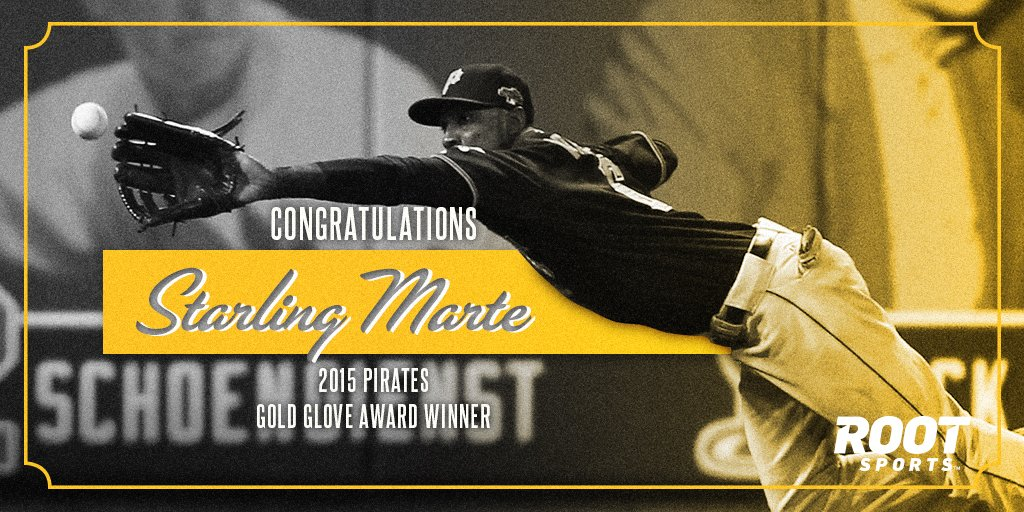 Congrats to @Pirates Starling Marte on being named a 2015 Gold Glove award winner! #BurghProud https://t.co/jo5l9VHNYv