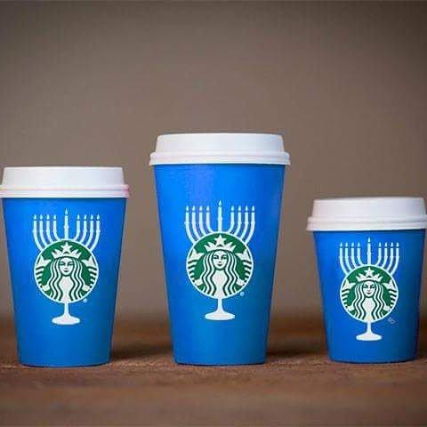 What war on Christmas? Gimme a venti Hanukkah cup #Starbucks! #StarbucksRedCup #starbuckschristmas https://t.co/Mj9e3untcr